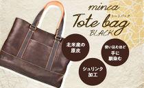minca/Tote bag 04/BLACK