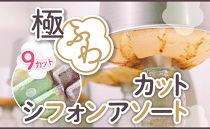 【八ヶ岳シフォン】極ふわカットシフォンアソート9個セット