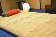 【受注生産品】熟練職人が作る天然素材最高級の敷布団(エジプト綿4.8㎏)