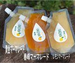 【有田産】大ちゃんの畑農園のこだわりの旬の味【3種食べ比べマーマーレード】