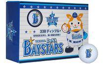 横浜DeNAベイスターズゴルフボール(ホワイト)3箱