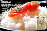 2020年福井県産「いっちょらい」コシヒカリ精米10kg