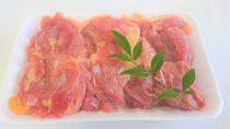 ◆老鶏ヒネモモ肉BBQ焼肉すき焼き用500g冷凍