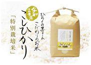 【頒布会】白米5kg(全6ヵ月)南魚沼産コシヒカリ ひらくの里ファーム
