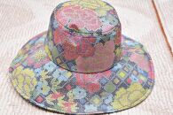 手作り☆大島紬女性用帽子