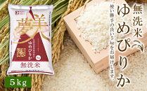 ☆新米☆【便利な無洗米】ゆめぴりか5kg