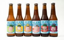 ブルーウッドブリュワリーの季節のおすすめビール6本飲み比べセット