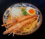 幻!宮古牛ホル麺(2食)×宮古島産車海老の濃厚!味噌そば(2食)
