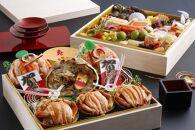 【限定100】京丹後の贅沢2段重おせち! 間人蟹プレミアムおせち祝賀
