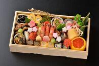 【辰巳屋】おせち料理~宇治の香り~3人前 1段重
