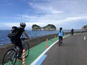 南紀熊野ジオパークガイドと巡る!古の時にタイムスリップサイクリング(Eバイク利用)