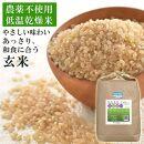 農薬・化学肥料不使用栽培「ササニシキ」5kg《玄米》2020年産
