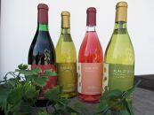 <北杜市白州町産の葡萄を使用> シャルマンワイン4本セット