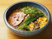 ラーメン札幌一粒庵:元気のでるみそラーメン(ピリ辛味)お土産生麺(4食エコ包装)