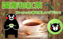 【ポイント交換専用】緑缶 国産和紅茶ティーパック(お茶の堀野園)