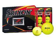 いなッピーオンネーム ゴルフボール SRIXONZ-STARXV2ダース パッションイエロー