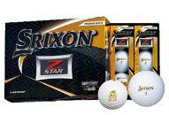 いなッピーオンネーム ゴルフボール SRIXONZ-STAR2ダース プレミアムホワイト