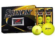 いなッピーオンネーム ゴルフボール SRIXONZ-STAR2ダース パッションイエロー