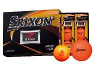 いなッピーオンネーム ゴルフボール SRIXONZ-STAR2ダース パッションオレンジ