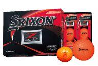 ※一時停止※いなッピーオンネーム ゴルフボール SRIXONZ-STARXV2ダース パッションオレンジ