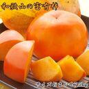 【先行予約】[甘柿の王様]和歌山産富有柿約7.5kgサイズおまかせ