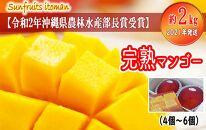 【令和2年沖縄県農林水産部長賞受賞】サンフルーツ糸満のマンゴー約2kg