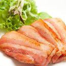 北海道物産展で大人気!塩びき熟成ベーコン