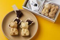 自分で詰める体験型和菓子手作りクマの形をした最中