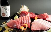 ≪年末限定発送≫【串本町×湯浅町】養殖本鮪赤身トロ1,350gと湯浅醤油200mlのセット