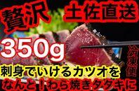 冷凍脂カツオ【350g】