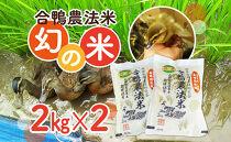 【令和2年度新米】合鴨農法米幻の米 農林48号