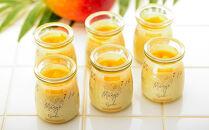 冷凍チーズプリン「おおさき完熟マンゴー」