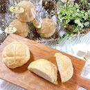 自家製豆乳を使ったお豆腐入りのメロンパン(卵・乳製品不使用)【天然パン工房楽楽】