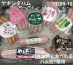 YG09-10創業昭和3年★手作りにこだわったハムセット(好きな時に食べれるハム他7種類)