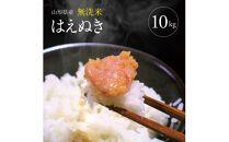 令和2年産 無洗米はえぬき 10kg(5kg×2袋)<東北食糧>