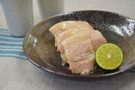 淡路島の藻塩で作った塩豚角煮200g5個入1㎏