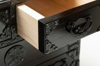 岩谷堂箪笥桜木作匠の技 四ツ引小箪笥(A4用紙サイズ) 伝統工芸品