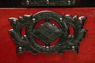 岩谷堂箪笥桜木作匠の技 小町箪笥(赤黒・忍び付) 伝統工芸品