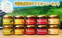 沖縄産素材の全種類詰め合わせマヌカハニー2個ずつセット