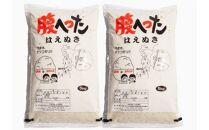 令和2年産 一等米 はえぬき10kg(5kg×2袋)<山形農芸>