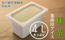 MT029 抹茶4L業務用アイス