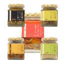牡蠣のオイル漬け、ディップソース、牡蠣ラー油セット(アヒージョ、グリル&チーズ、バーニャカウダ、味噌、ラー油)