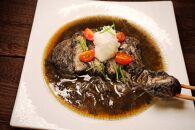 【美味しい森林保全】黒いかつ煮(ロース・ヒレ)4食セット【キコリの炭】