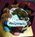 【葵ベーカリー】オーダーメイドケーキ(チョコレート)
