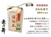 【2020年産】竜の舞 こしひかり(白米)5kg