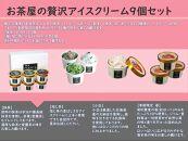 お茶屋の贅沢アイスクリーム9個セット