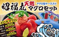 昭福丸「天然マグロセット」