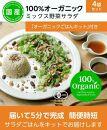 オーガニック野菜サラダ100gx4袋 ごはんセット