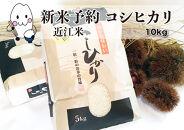 ◆【新米予約・令和3年(2021)産】農家直送近江米コシヒカリ5kg×2袋精米済