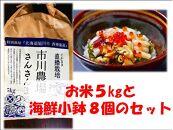 大切な人と一緒に!海鮮とお米のお祝いセット!